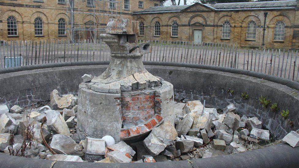 Collapsed urn