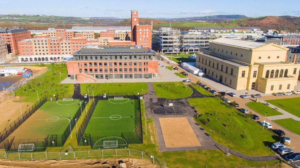 Swansea University's Bay campus