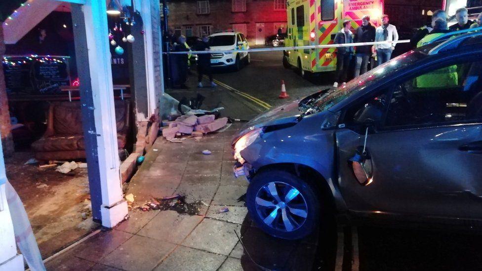 Scene of incident in Stamford