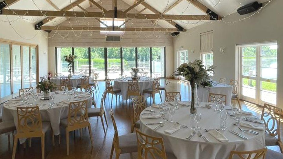 The Boathouse wedding venue, Ormesby Broad