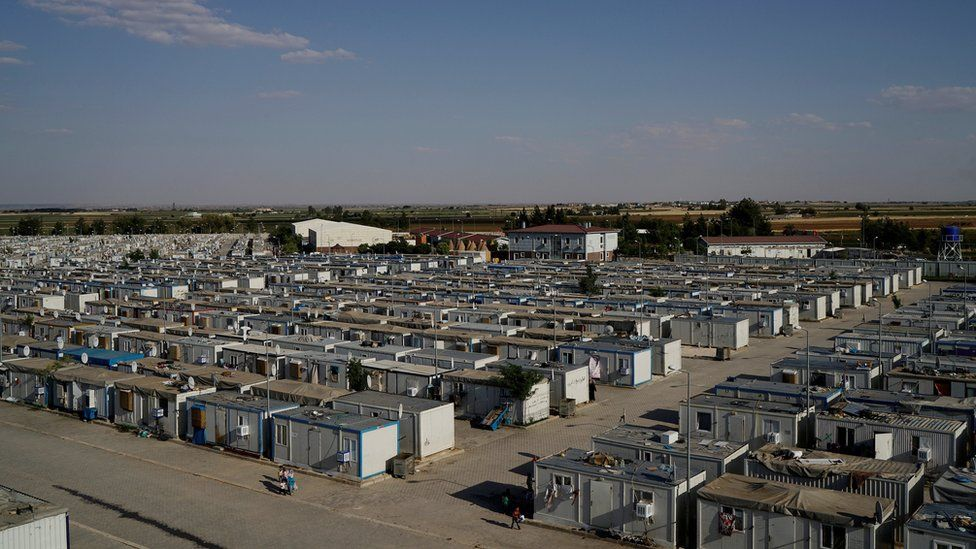 A general view of the Harran refugee camp is seen in the Sanliurfa province, Turkey, June 6, 2016