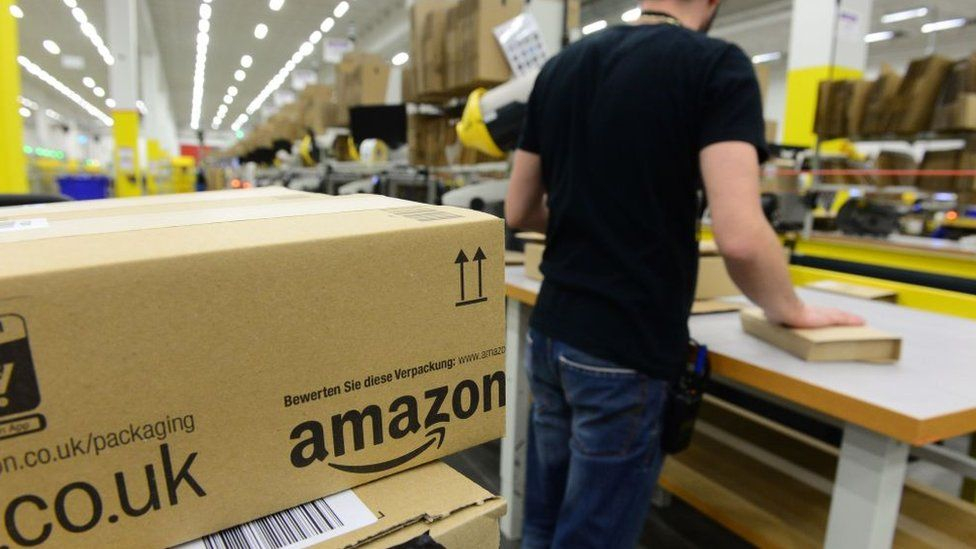 Amazon's other pay benefit: A higher UK tax rate? - BBC News