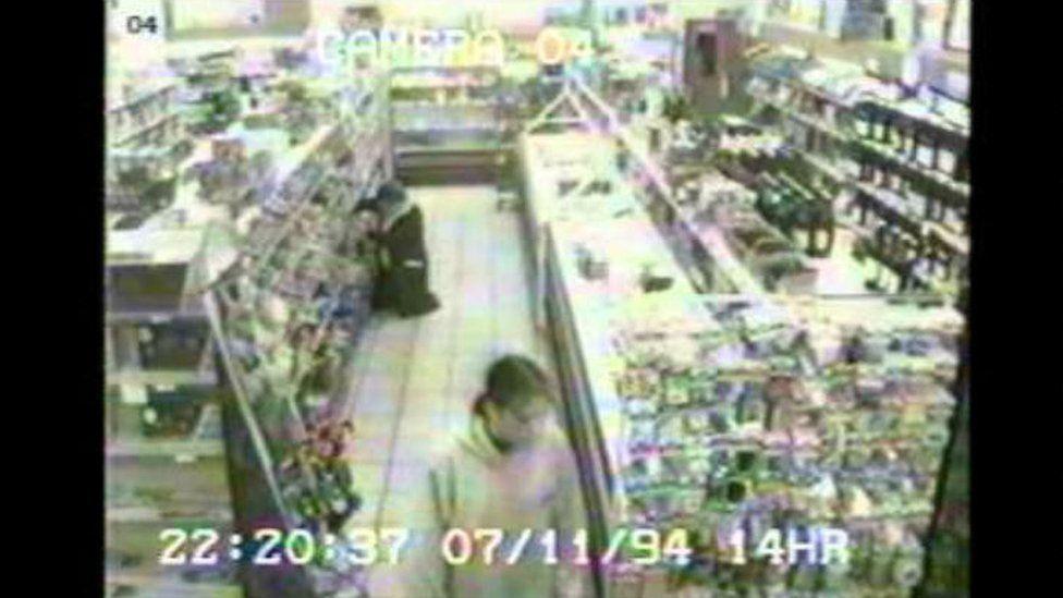 Lindsay Rimer filmed on CCTV