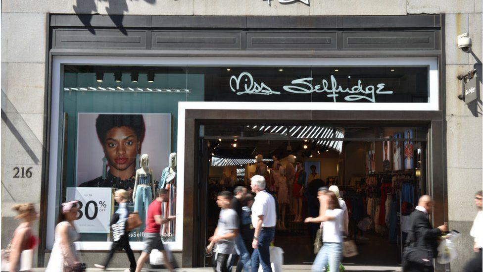 Miss Selfridge on Oxford Street