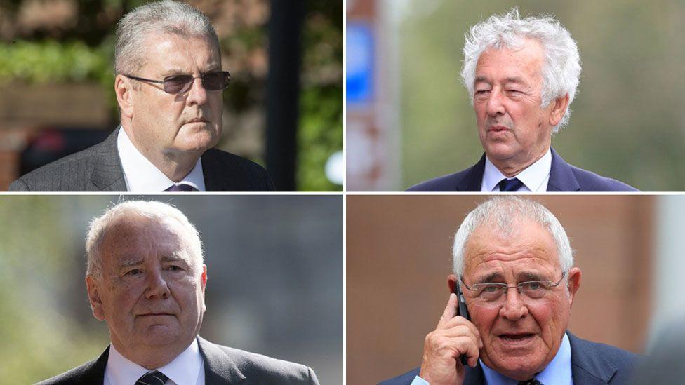 Graham Mackrell, Alan Foster, Donald Denton, Peter Metcalf