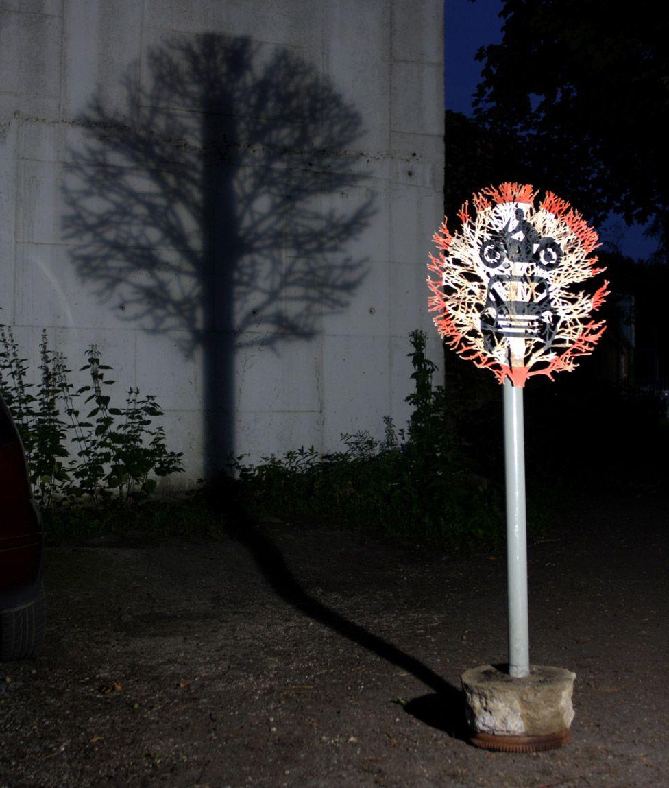 No vehicles Sign by Dan Rawlings