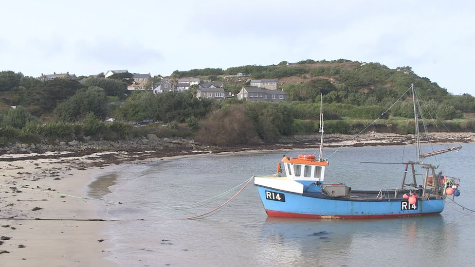 Fishing boat on the Isles of Scilly