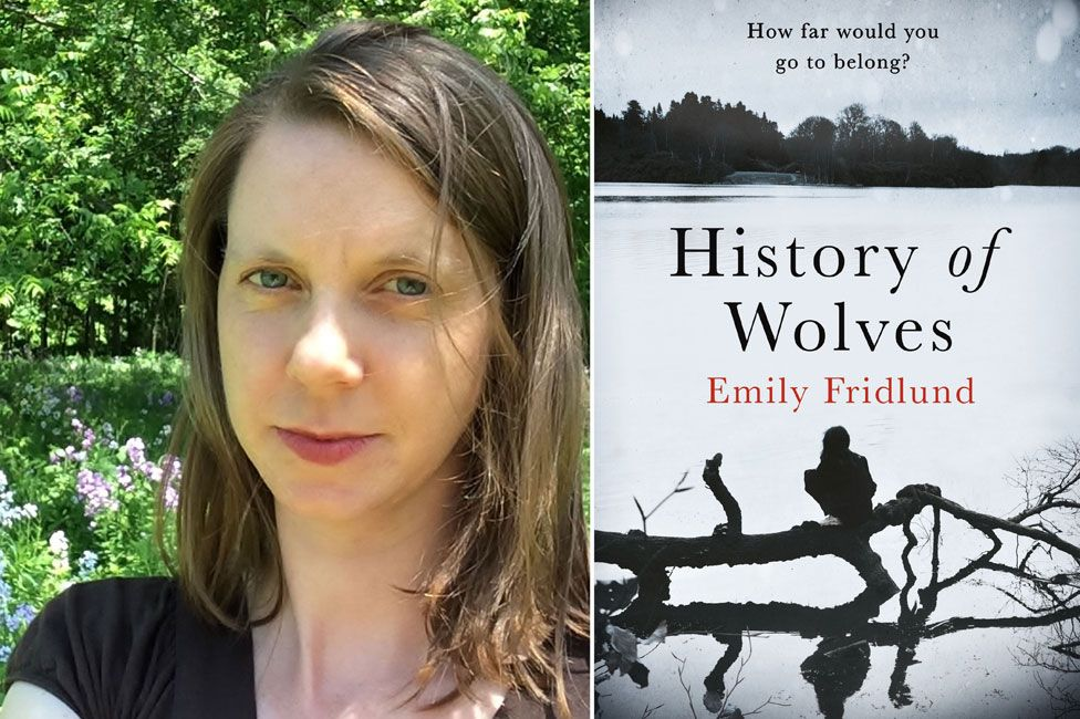 Emily Fridlund and History of Wolves book jacket