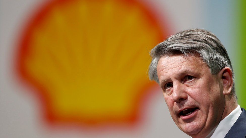 Ben van Beurden, chief executive officer of Royal Dutch Shell