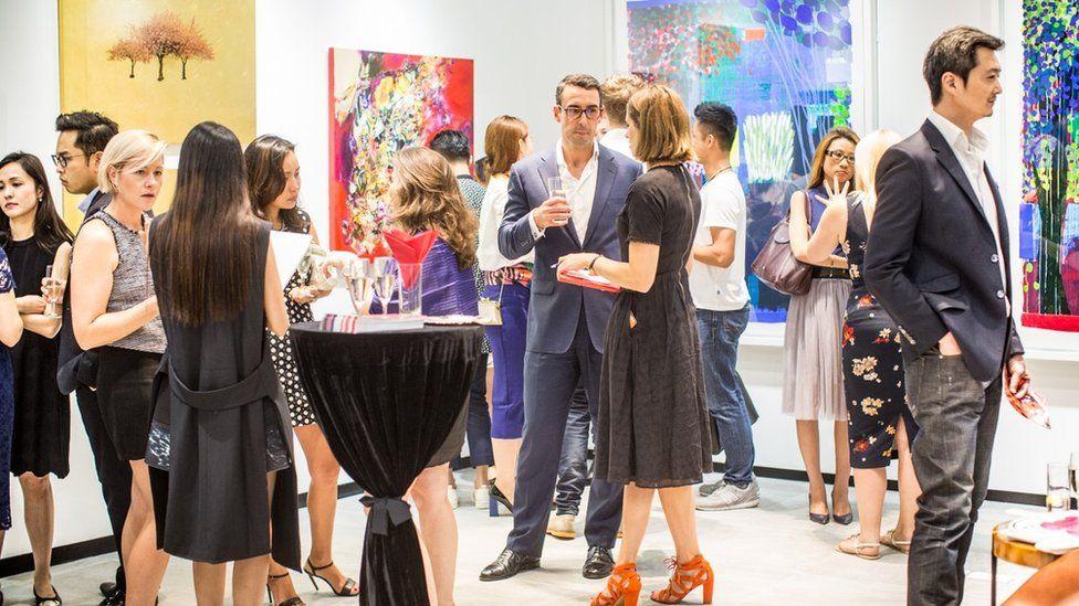 Rise Art pop-up month long exhibition in Hong Kong
