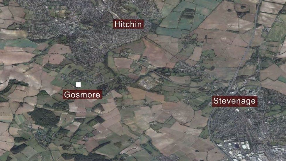 Gosmore map