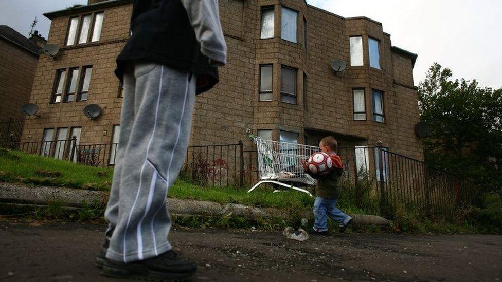 Child poverty in Glasgow