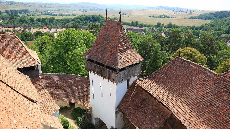 A World Heritage Site by Unesco: Viscri fortified church
