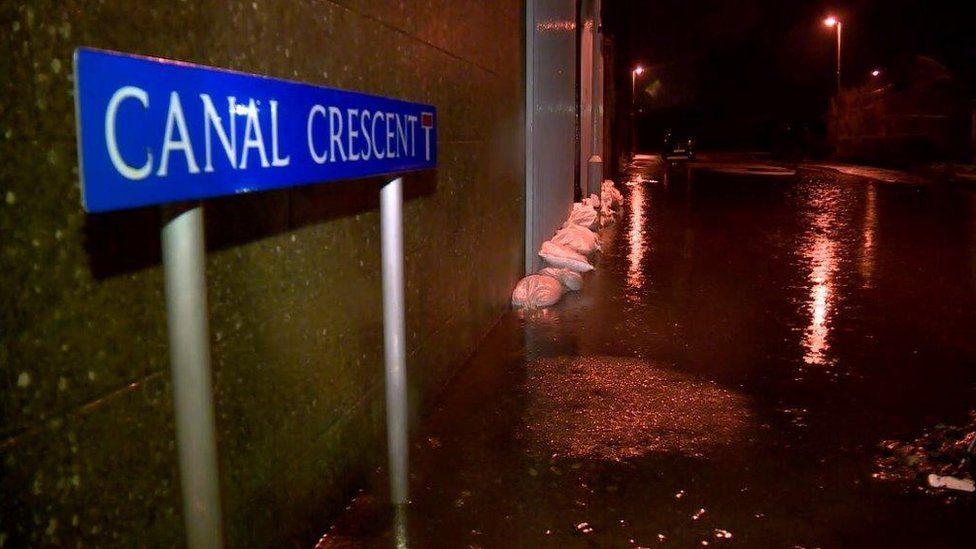 Port Elphinstone flooding