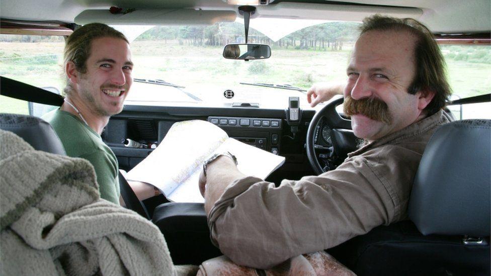 Dick Strawbridge and son