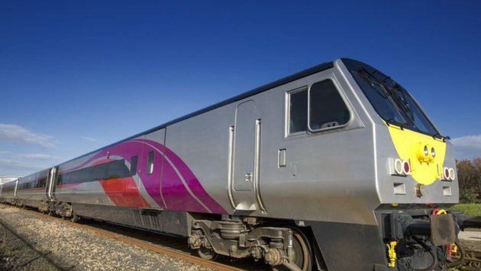 Enterprise train (library picture)