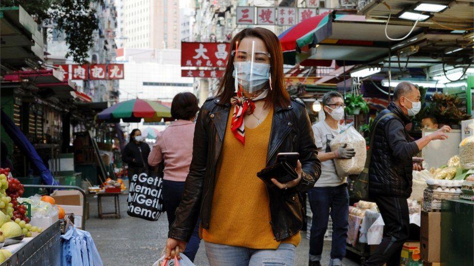 Hong Kong shoppers