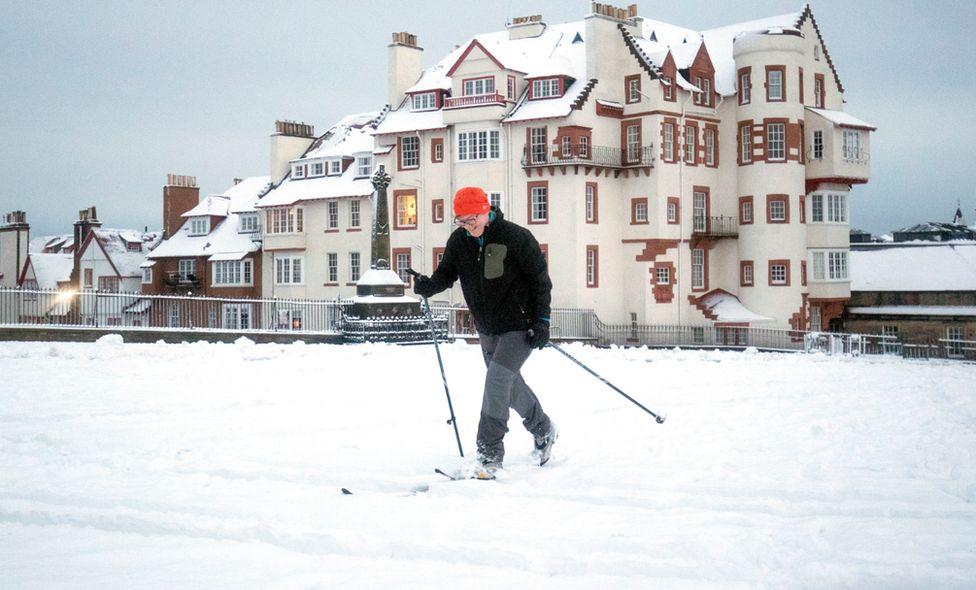 Edinburgh skier