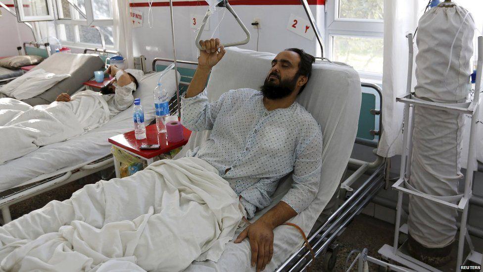 A man who survived a US strike on an Afghan hospital