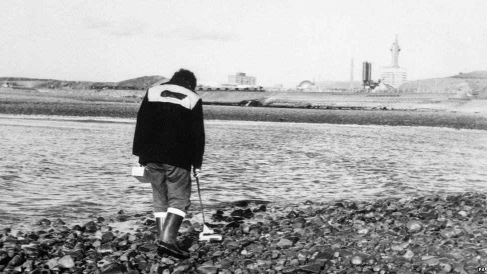 Sellafield beach check