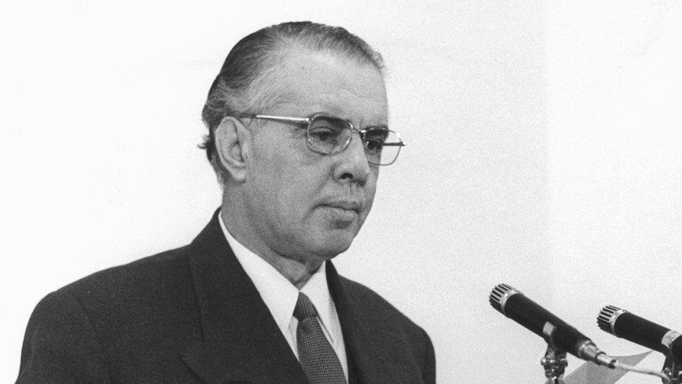 Enver Hoxha in 1970