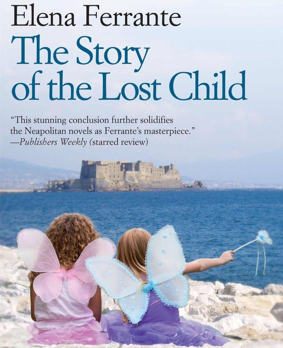 The Story of the Lost Child by Elena Ferrante cover