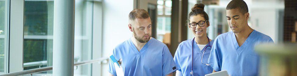 nurses in us hospital