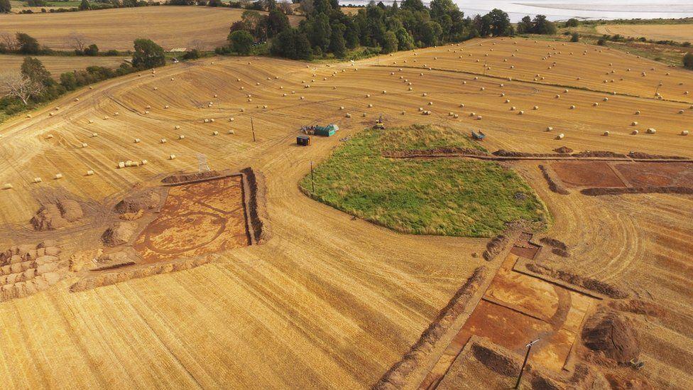 Pictish cemetery