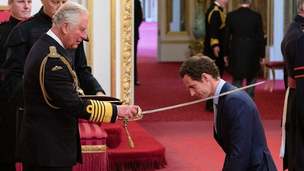 Andy Murray is knighted