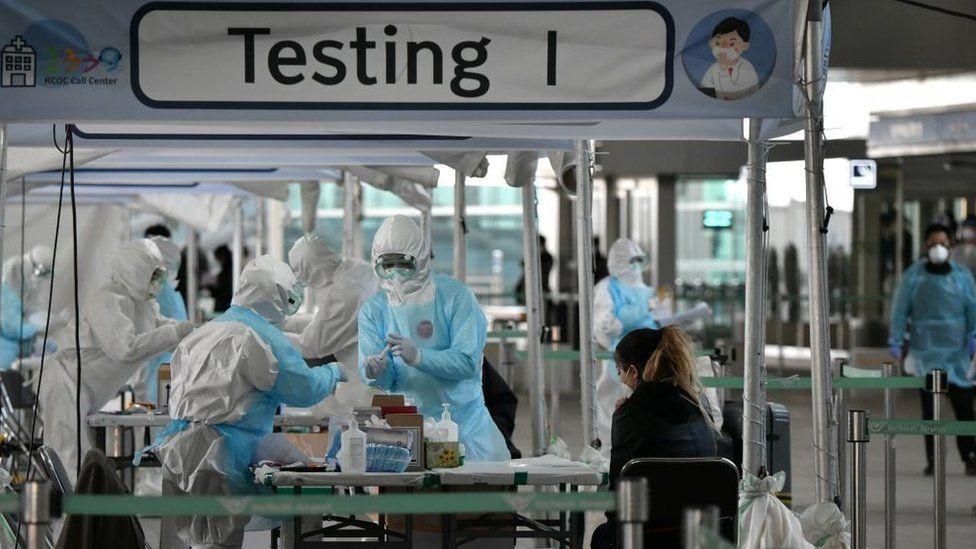 Covid-19 testing in South Korea