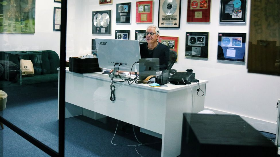 Jeremy at work