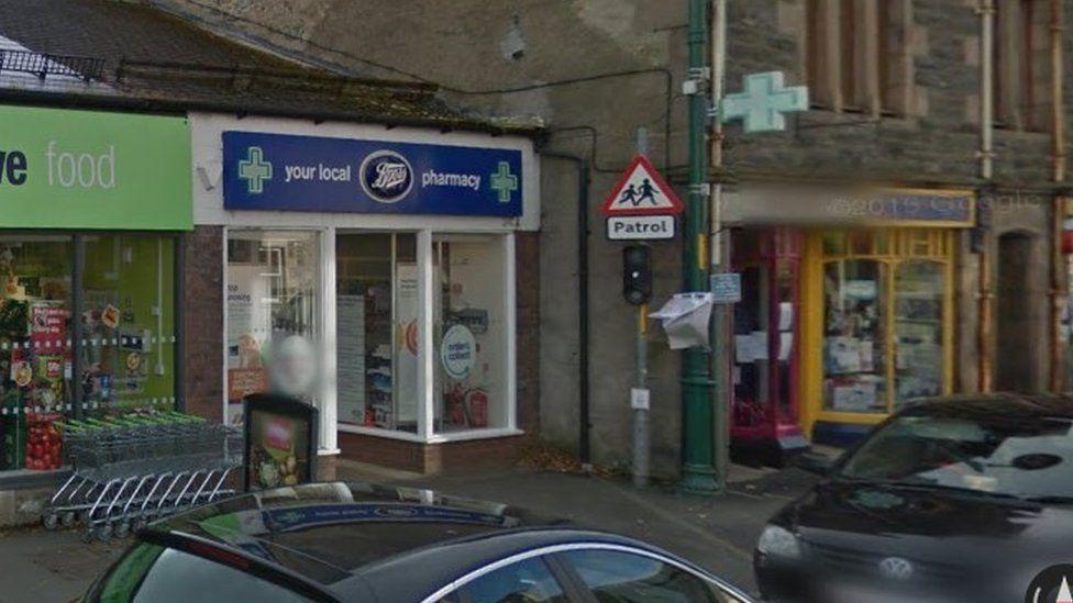 Boots pharmacy, Kingussie