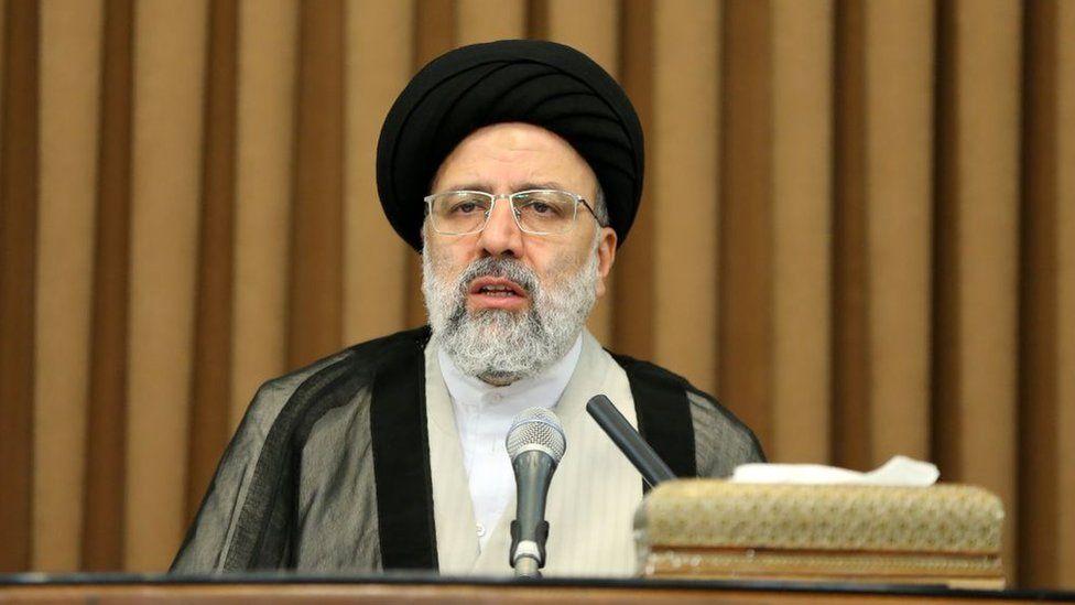File photo of Ebrahim Raisi (24 June 2019)