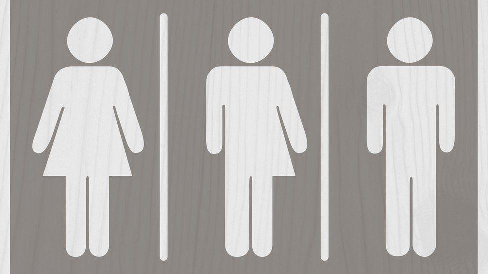 transgender toilet sign