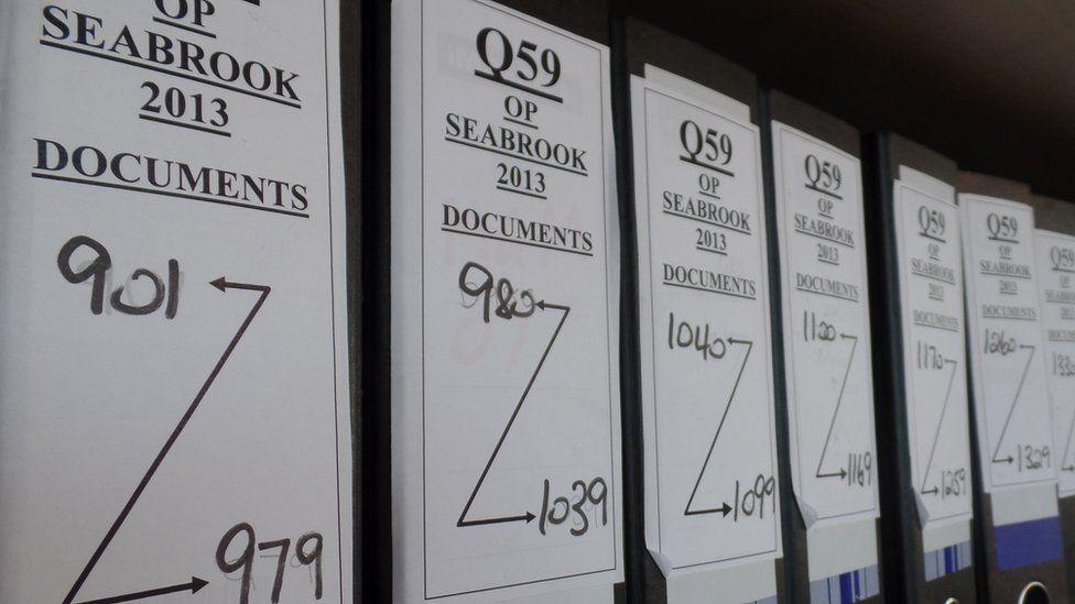 Operation Seabrook folders