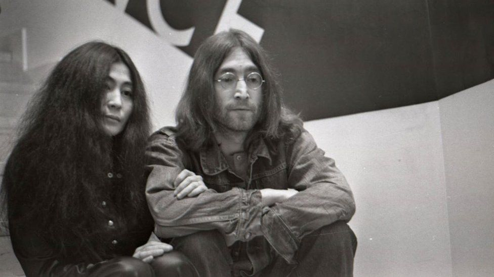 John Lennon and Yoko Ono's first gig in 1969 celebrated - BBC News