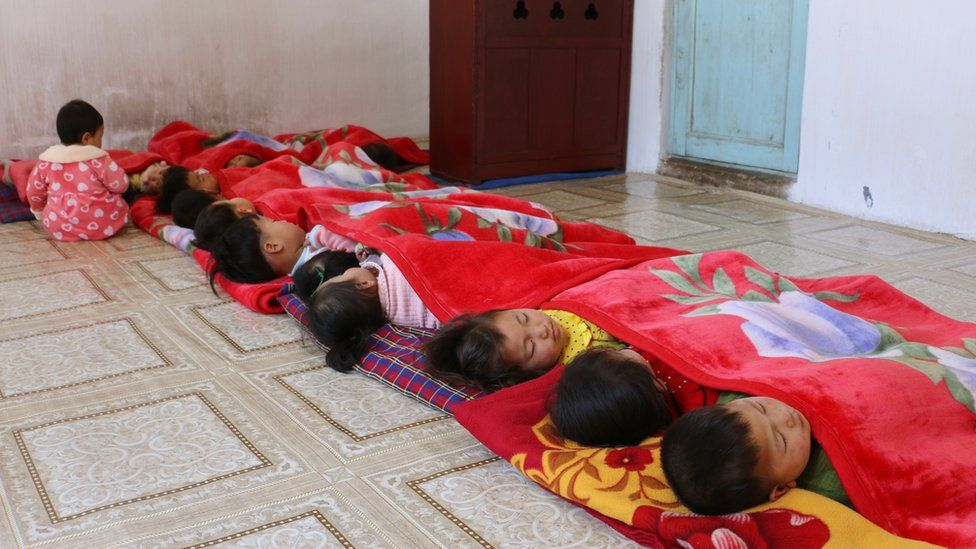 Children in North Korea, 2019