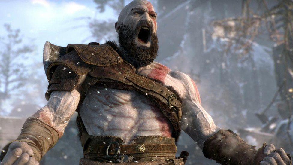 Kratos in God ofWar
