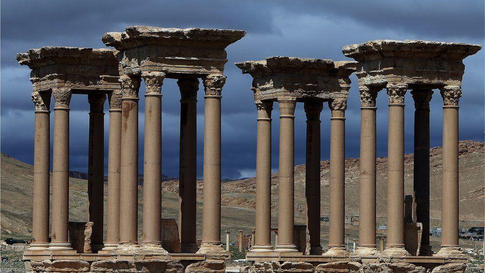 Tetrapylon at Palmyra, Syria