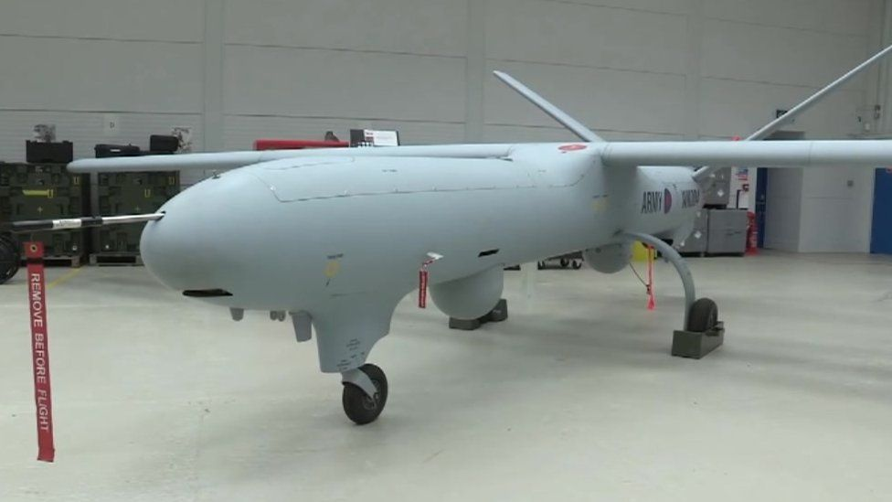 Watchkeeper drone
