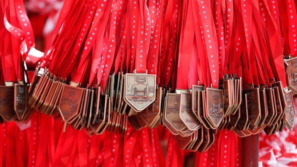 London Marathon medals