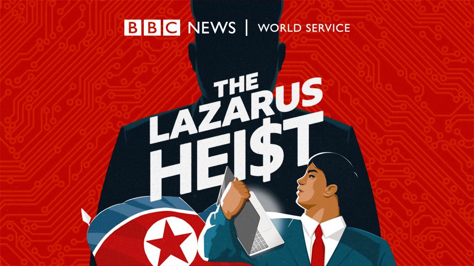 The Lazarus Heist artwork