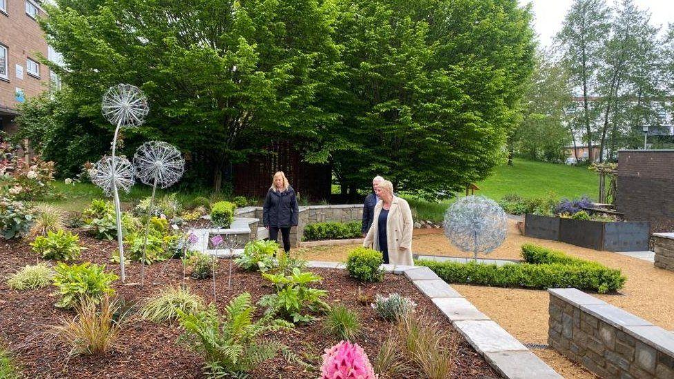 Commemorative Garden Gloucestershire Royal Hospital