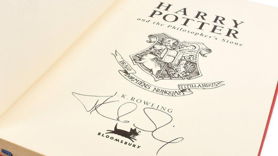 Signed Harry Potter