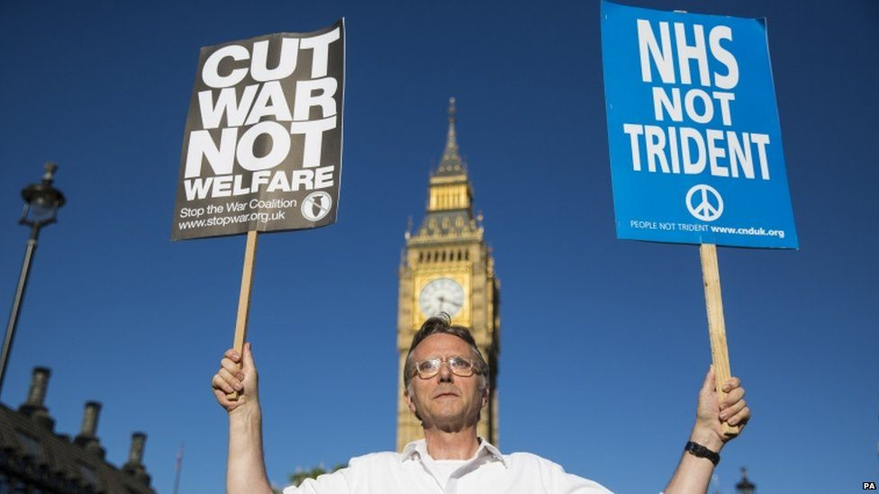 Demonstrations against Trident