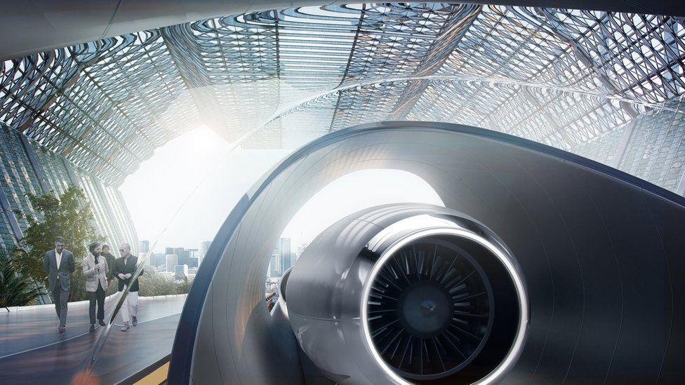 Hyperloop graphic