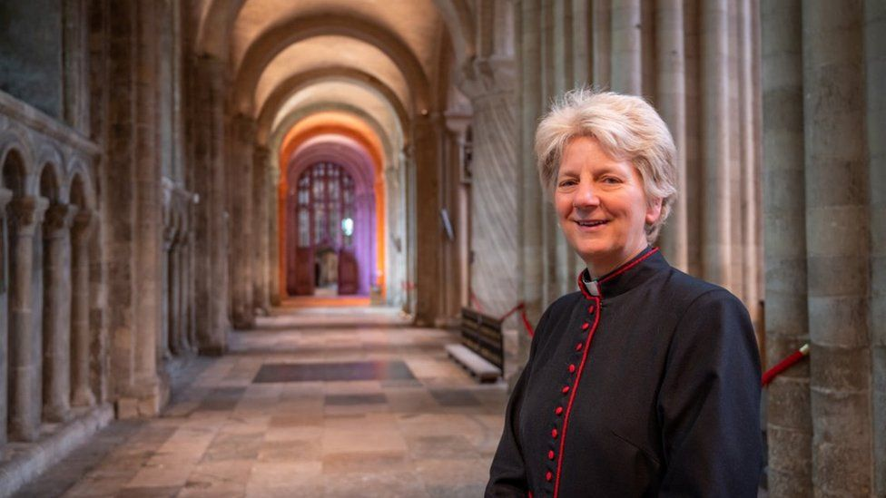 The Dean of Norwich, the Very Reverend Jane Hedges