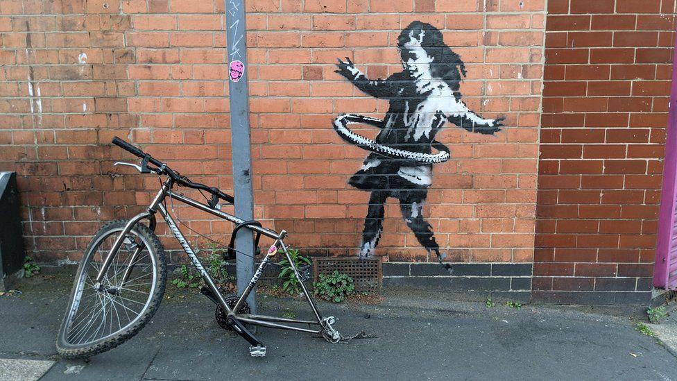 Graffiti de Banksy - Nottingham - photo non créditée
