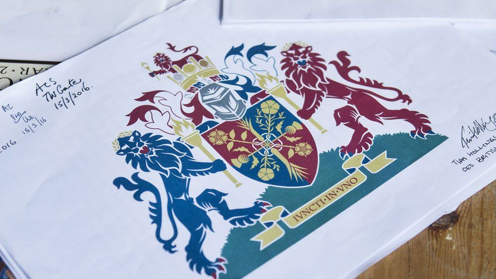 The Coat of Arms design