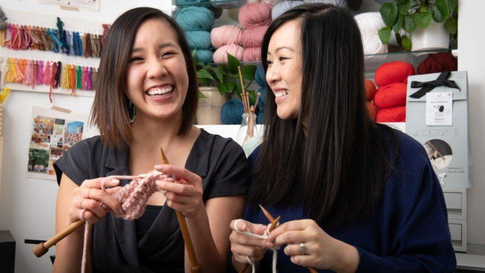 Jen Hoang and Jennifer Lam